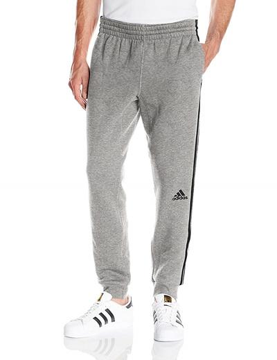 Adidas adidas Mens Slim 3 Stripe Sweatpants