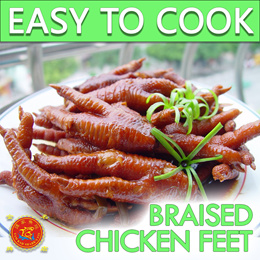 Braised Chicken Feet | 红烧凤爪 | ● JUICY ● DELICIOUS