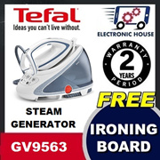 ★ FREE IRONING BOARD - Tefal GV9563 Steam Generator Pro Express Ultimate ★ (2 Years Warranty)