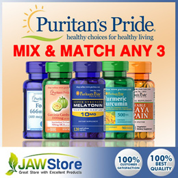 Puritans Pride Mix N Match ANY 3 Bundle Choose from 10 Types of Supplements