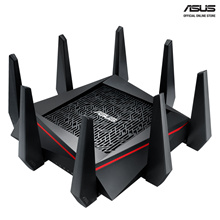 ASUS RT-AC5300 AC5300 Tri-Band Gigabit WiFi Gaming Router with MU-MIMO supporting AiProtection netw