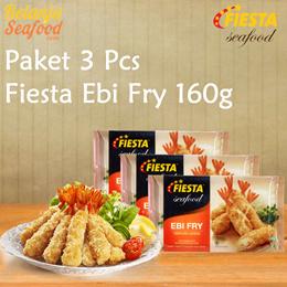 Paket Fiesta Ebi Fry - 3 pcs