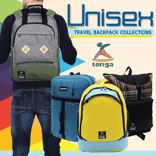 Tonga Travel Backpack Collection Deals for only Rp99.000 instead of Rp99.000