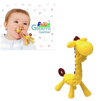 Qoo10 - Giraffe Baby Teether Natural Rubber Pacifier Chew Toy ... d7a8d364da