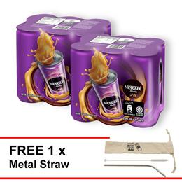 NESCAFE Mocha RTD 240ml   Buy 2 Clusters Free Metal Straw