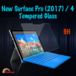 Microsoft New Surface Pro 6 /2017 / Surface Pro 4 / Surface Go Tempered Glass 0.3mm Screen Protector