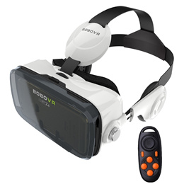 BOBOVR Z4 120° Degrees FOV 3D VR 3D Movie Video Game Private Theater with Built-In Headphone