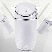 Mini washing machine small infant childrens household semi-automatic with dry dehydration