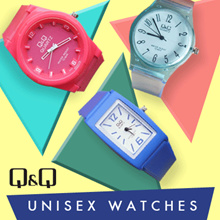 FREE SHIPPING! NEW ITEM UPDATE! FREE EXTRA BATRAI! TODAY ONLY! UNISEX WATCH _ JAM TANGAN QNQ UNISEX