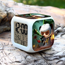 League of Legends LOL Panda Teemo Alarm Clock Night Light