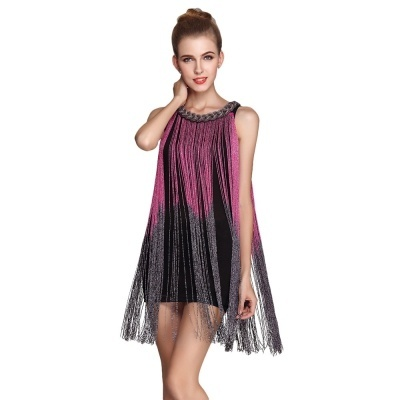 09e2aaa9ae26f Qoo10 - Mini Sleeveless Flapper Dress : Mobile Accessories