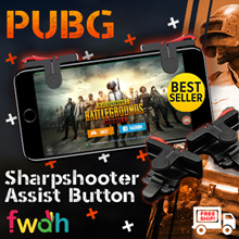 ★ PUBG Sharpshooter Assist Button L1R1 Control ★ Game Controller for Mobile Phones ★ Wide Variety ★