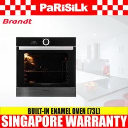 Brandt BXE5532X Built-in Enamel Oven (73L) - Singapore Warranty