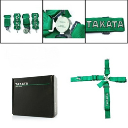 TAKATA 4pcs Seat Belt FIA Approved Homologation /Harness/Racing Safety Seat Belt