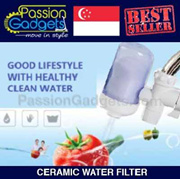 ★Local SG Seller★Water Purifier Kitchen Tap Ceramic Filter Dirt Clean for wash dishes Vegetable Baby