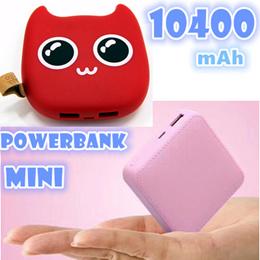 mini and high capacity 10400 mAh Powerbank/xiaomi/hua wei /iphone/Power bank/Gift idea/company gift