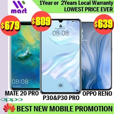 (Local Official Warranty) Wmart Best New Mobile Promotion 3 Deals for only RM2215.9 instead of RM2770