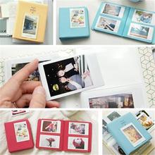 Multi-Color Mini Film  64 Pocket Photo Storage Polaroid Album Case AP