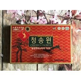 Cheong Song Won Red Pine Essential Oil 180 Capsules