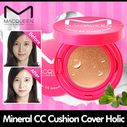 [MACQUEEN] Mineral CC Cushion Cover Holic / 2 color