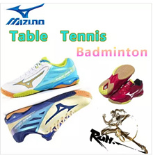 ☆TENNIS / BADMINTON SHOES☆MIZUNO SHOES.Table tennis shoes men and women couple models sports shoes~!Running fitness and leisure sports. Indoor fitness Training ~!Love sports love life!