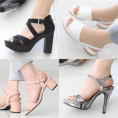 ★Handmade Shoes★シンプルで美しいヒールサンダル★ストラップサンダル★ミュールサンダル★サンダル★sandal★hiheel sandal★クロスサンダル★パーティーサンダル