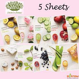 [5pcs] LOWEST IN SG ♥ innisfree its real squeeze mask