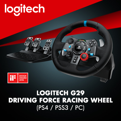 LogitechLogitech G29 Driving Force with shifter (PS4/PS3/PC)