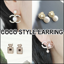 [LAURENCO] 💖 Luxury elegant style 💖 Earring_Camellia / coco new style Earrings.