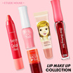 Etude House Best Seller Lip tint and Lip care collection