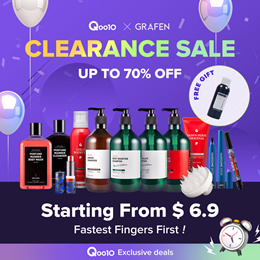 [GRAFEN]70%OFF🌈Clearance Sale Best K-beauty💝Starting From $6.9 / FREE GIFT / ONLY 300 people