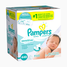 (Baby wipes) Pampers Large collection of wet wipes for babies / 1200 sheets for b