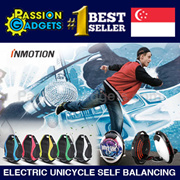 100% Authentic Inmotion V8/Ninebot One Model A1 S2 E+ [35km] Electric Unicycle Self Balancing