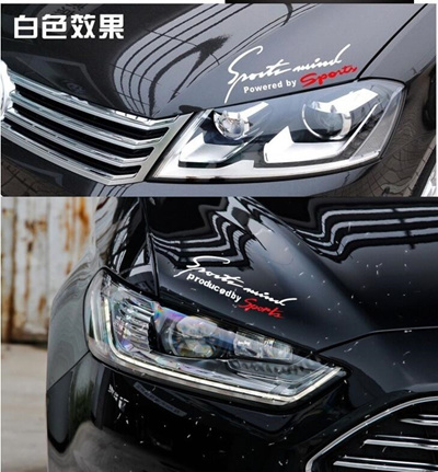 qoo10 - ho 2017 car-styling sticker hyundai tucson passat peugeot