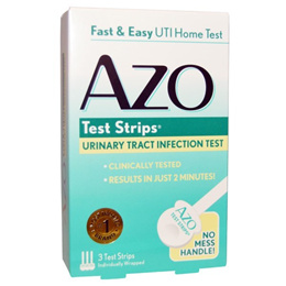 azo test strips urinary tract infection test 3 ct