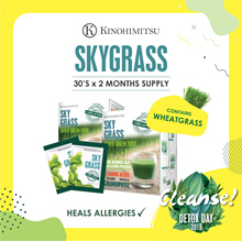 [2MTH SUPPLY] SkyGrass 30sx2 - Organic Wheatgrass* Fight Eczema / Boost Immunity / Balance ph