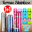 [ BUY 1 GET 1 ] Termos stainless 500ml