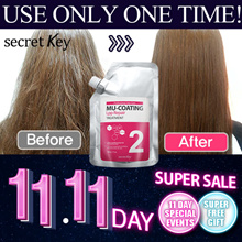 🔥SECRETKEY 11.11 MEGA DEAL🔥 Mu-coating LPP Repair Hair Treatment / Same effect of expensive salon!