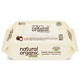 New Stock!!♥Natural Organic Wet Wipes with CAP♥80sheets♥Premium Quality♥Ultrapure water♥Natural plan