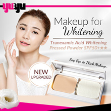 [BEAUTYMAKER] NEW UPGRADED Tranexamic Acid Whitening Pressed Powder SPF50 ❤ Brightening | Whitening