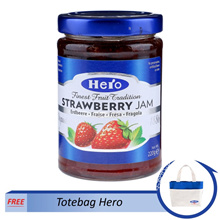 Hero Jam-Strawberry (free totebag)