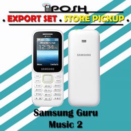 Samsung Guru Music 2 Dual Sim Export Set Without Warranty!