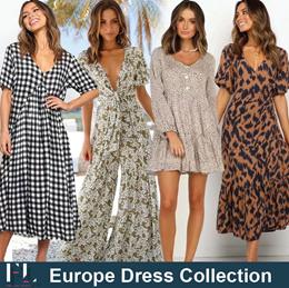 5th Jan Update New Style ★Euro Dress★ Zara Style / Leopard print / Plaid dress / Casual / LOOSE FIt
