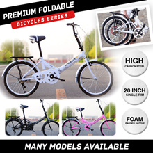 ★2018 MOST TRENDY★ JAPAN HACHIKO Foldable Shimano Bicycle* Folding Bike* Local Seller* 20 Inch Wheel