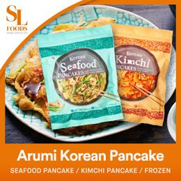 [Korean Food][NEW STOCKS] Arumi Korean Pancake - Seafood Pancake / Kimchi Pancake / Frozen