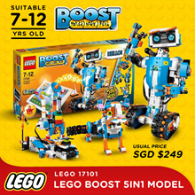 $170 ONLY after Q10 coupon! [PROMO] LEGO 17101 Creative Toolbox (Lego Boost 5 - in - 1 Model)/ 10256/ 1025