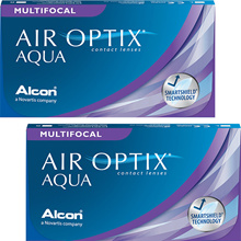Air optics Bifocals multifocal 1 box 6 sheets included 2 weeks 2 Week contact lens [2 boxes]