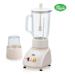 MY CHOICE GLASS JUG BLENDER WITH DRY FOOD MILL (MC168)