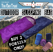 ★BEST SELLER WINNING Camping/DELUXE Sleeping Bag★ GET 2 AT A BUNDLE DEAL! LOCAL IN STOCKS!