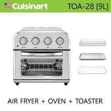 [Cuisinart] TOA-60KR Electric Oven Air Fryer Toaster